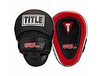 Лапы для бокса TITLE Gel Blockade Punch Mitts