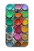 Чехол для Samsung Galaxy J1 J100 (Краски)