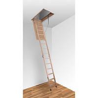 Деревянная лестница на чердак Altavilla Cold 4s (Pino)