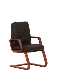 Кресло офисное Manager Extra CF LB-1.023, экокожа Eco-30 (Новый Стиль ТМ) Кожа Люкс комбинированная LE-A