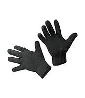 """Перчатки двойные Полушерсть """"Black"""""""