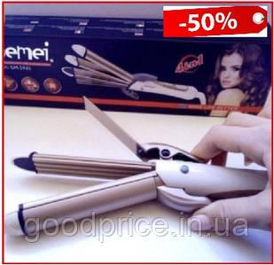 Утюжок выпрямитель плойка гофре 4 в 1 Gemei GM-2962 для укладки волос