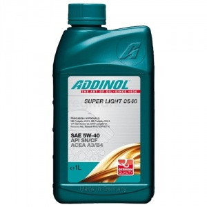 Масло ADDINOL Super Light 0540 5w40 1л