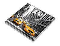 Весы напольные стеклянные Beurer GS 203 New York