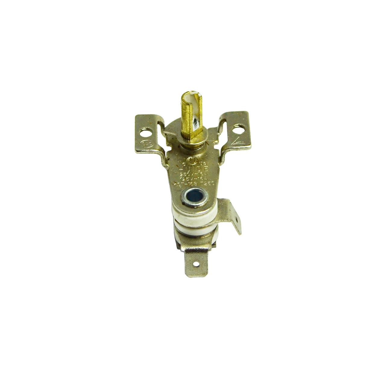 Терморегулятор KST 168 для обогревателя (16А, ножки под 90°, крепежные отверстия 3 мм)