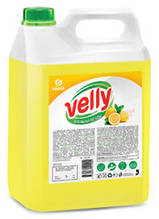 """Засіб для миття посуд GRASS """"Velly"""" (лимон) 5кг 125428"""