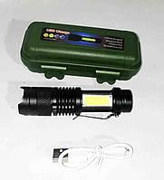 Фонарик BL 525 micro usb charge, фото 1