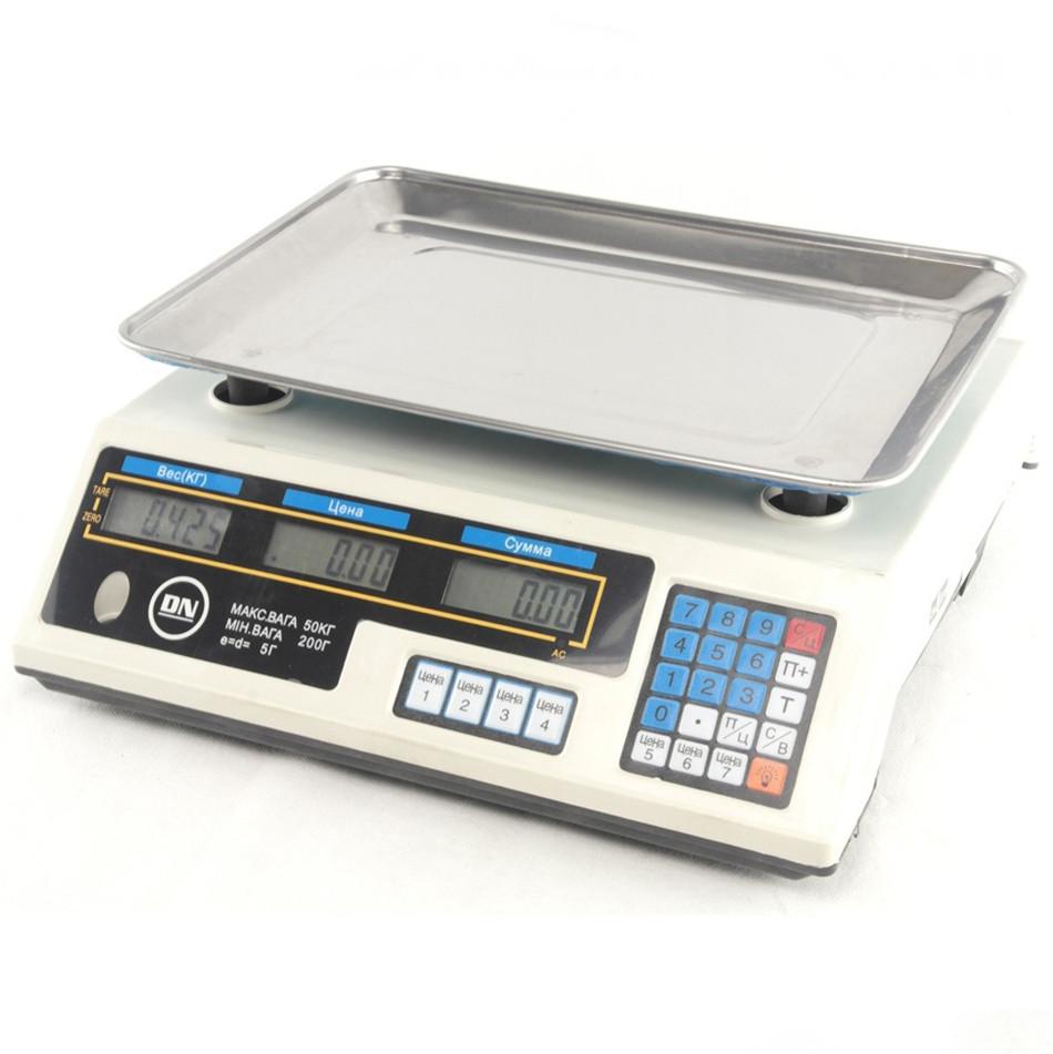 Торгові електронні ваги DN до 50 кг