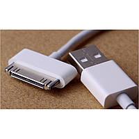 Оригинальный кабель для телефона USB Apple/Iphone 4, белый, телефонный кабель, переходник для телефона