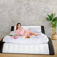 """Мягкая двуспальная кровать """"Клео"""" без подъёмного механизма 140*200, фото 1"""