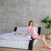 """М'яка двоспальне ліжко """"Клео"""" з підйомним механізмом 140*200, фото 1"""