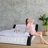 """М'яка двоспальне ліжко """"Клео"""" з підйомним механізмом 200*200, фото 1"""