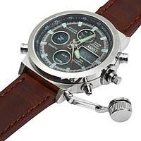 Часы Amst Watch Мужские наручные армейские часы AMST Watch | кварцевые противоударные часы! Акция