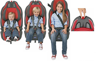 Група 1-2-3 (для дітей вагою від 9 до 36 кг)