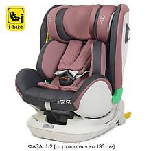 Автокресло детское ME 1081 Pale Pink