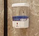 Дозатор для жидкого мыла сенсорный, настенный, 700 мл Z-103, фото 4