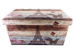 Пуфик складной банкетка Париж 2 76х40х42 см