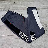 Брюки спортивные мужские ТРИКОТАЖ+ФЛИС. РОСТОВКА  от S до XL. . Спортивные штаны для мужчин., фото 5