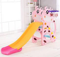 """Гірка дитяча F - 58901 """"Toti"""" рожевий 94025"""