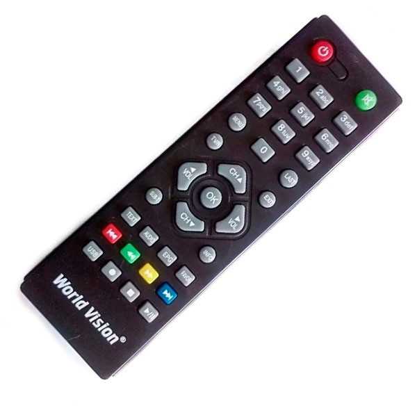 Пульт DVB-T2 World Wision T37/ T54M/ T57, Amiko T58/T54,  Hyundai H-DVB03T2, D-Color DC1201HD mini