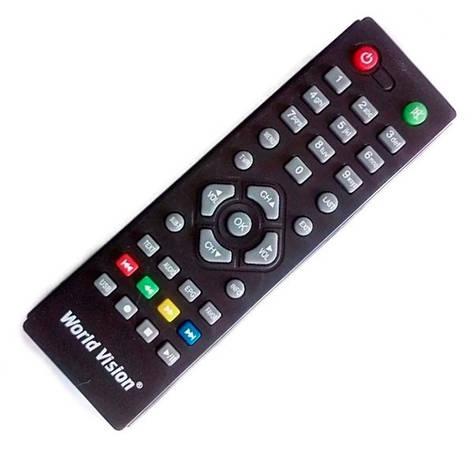 Пульт DVB-T2 World Wision T37/ T54M/ T57, Amiko T58/T54,  Hyundai H-DVB03T2, D-Color DC1201HD mini, фото 2