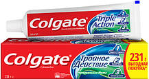 Зубна паста Colgate комплексна Потрійна дія Натуральна м'ята 150 мл (6920354806926)