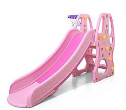 """Гірка дитяча C - 23056 """"Toti"""" рожевий 94036"""