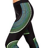 Леггинсы для фитнеса и йоги Domino Streak CO-6602 размер M-L-42-46, фото 2