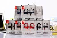 Наушники беспроводные Power Wireless G5 Bluetooth, крепление на ухе, разные цвета, наушники Bluetooth