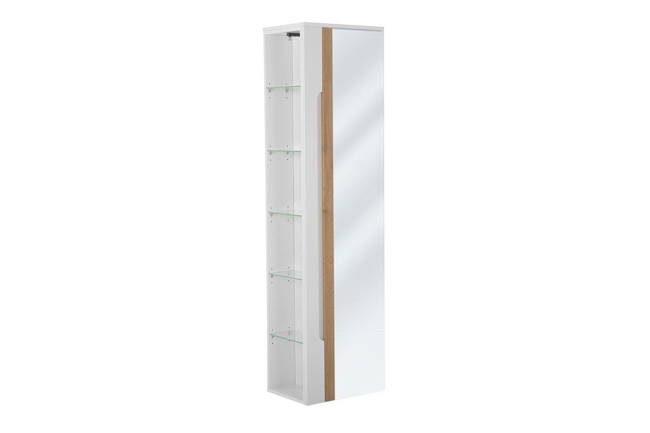 Шкафчик высокий с зеркалом GALAXY