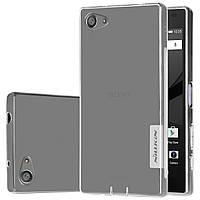 TPU чехол Nillkin для Sony Xperia Z5 Compact прозрачный