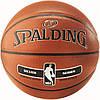 Баскетбольний м'яч 7 розмір SPALDING для вулиці універсальний ігровий СПАЛДІНГ NBA Помаранчевий