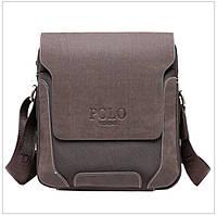 Мужская кожаная сумка Polo Новая модель, фото 1