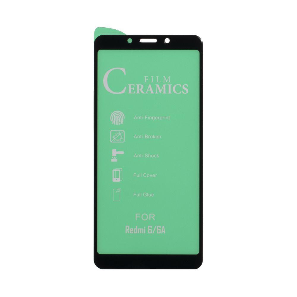 Защитное стекло Film Ceramic for Xiaomi Redmi 6 / 6A без упаковки
