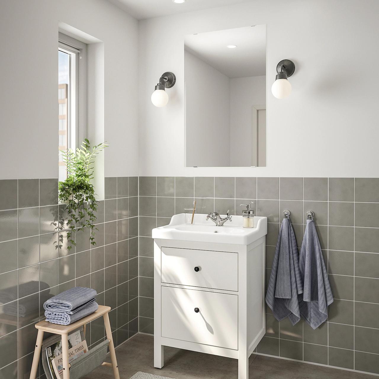 Комплект мебели для ванной комнаты HEMNES / RATTVIKEN
