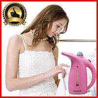 Ручной отпариватель для одежды Келли Розовый утюг паровой. Вертикальный отпариватель, Отпариватели для одежды