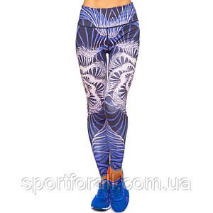 Лосины для фитнеса и йоги с принтом Domino YH64   размер L