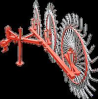 Граблі ШИП до трактора ворошилки 3-колісні «Сонечко» (кріплення 3х точка)