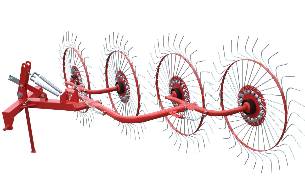 Грабли ворошилки для трактора «Сонечко» 4-колесные