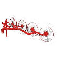 Грабли  ворошилки  4-колесные  для  трактора