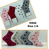 Детские демисезонные носочки для девочек ( мин. заказ 12 шт. в уп. ) 3-12 лет