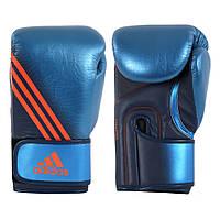 """Боксерские перчатки adidas """"Speed 300"""". Цвет синий."""