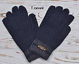 Перчатки вязаные подростковые от 12 лет светло-серый, фото 3