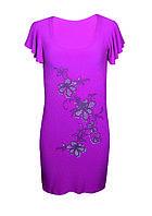 Платье-туника большого размера Ветка