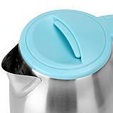 Чайник Haeger дисковый из нирживейки 2 литра, фото 6