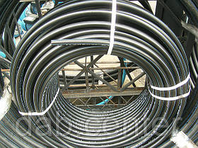 Труба ПЭ-80 диаметр 25мм давление 8 атмосфер