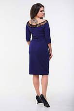 Платье, №98, индиго, 48-58р., фото 3