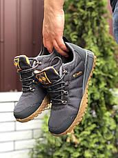 Мужские осенние термо кроссовки Columbia,серые, фото 3