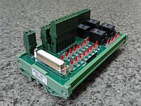 Модуль входов/выходов с релейной коммутацией и индикацией NC-301-201 системы ЧПУ Балт-Систем NC-301 NC-302