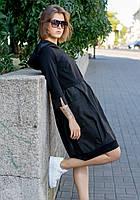 Модное и элегантное, стильное платья в стиле бохо из трикотажа креп-дайвинг и плащевки
